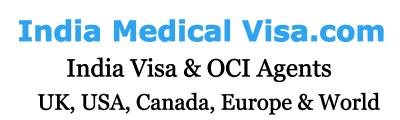 India Medical Visa Indian Visa Agents UK USA Canada Europe